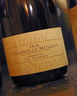 Soirée Dégustation Chambolle Musigny au Bistrot d'Ariane