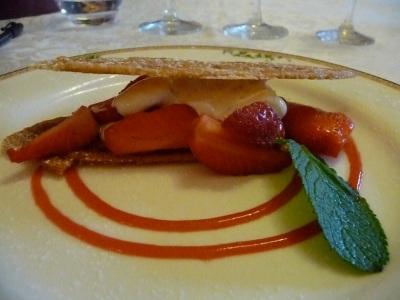 leg28.arlette aux fraises et crémeux à la menthe
